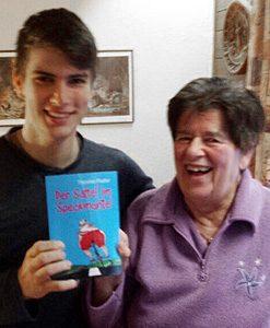..ein Buch für den Enkel und die Oma