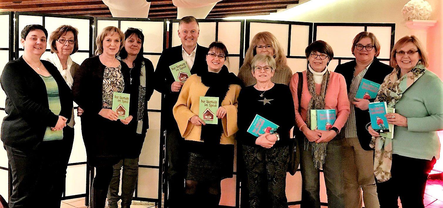 Lesung bei den Unternehmer Frauen Rhein-Main // Foto: Weitz, UFH-Rhein-Main