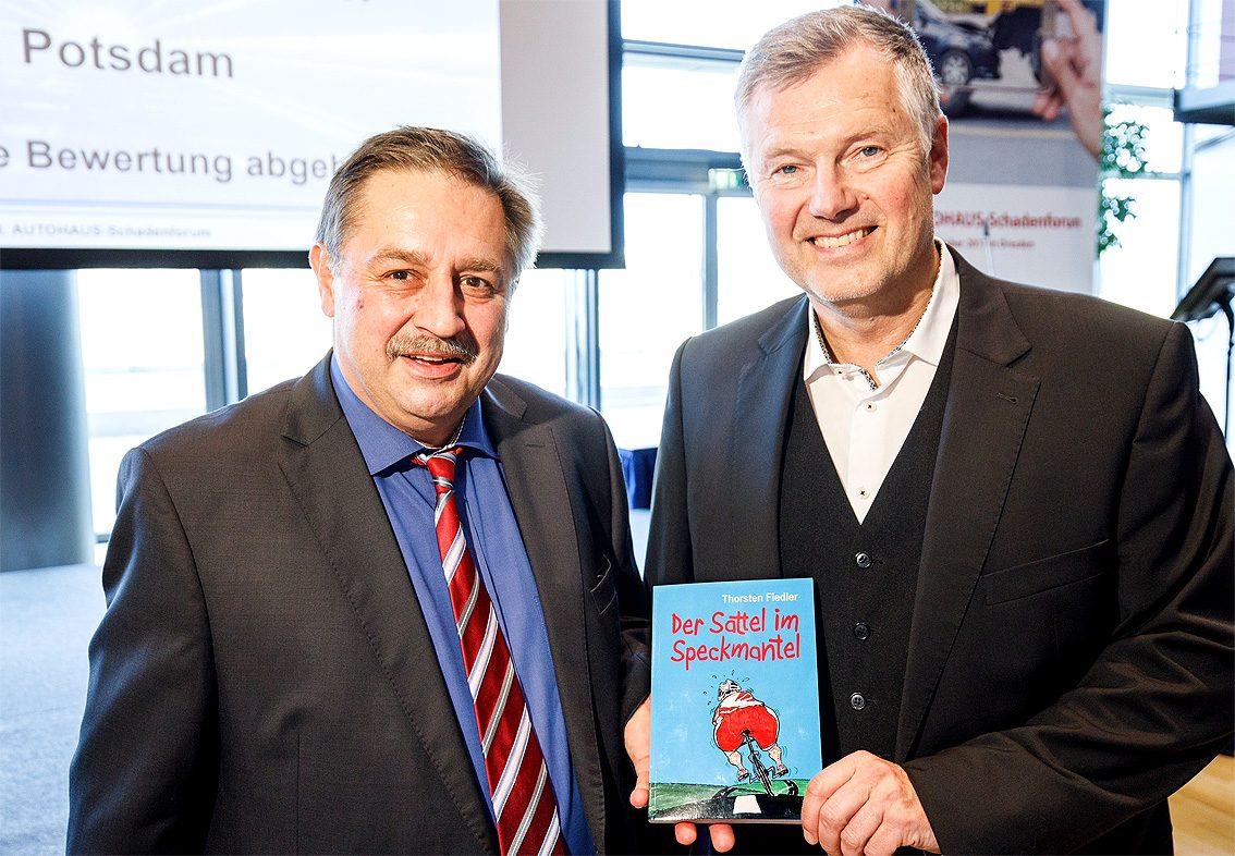 Walter K. Pfauntsch, Chefredakteur Autohaus und Thorsten Fiedler